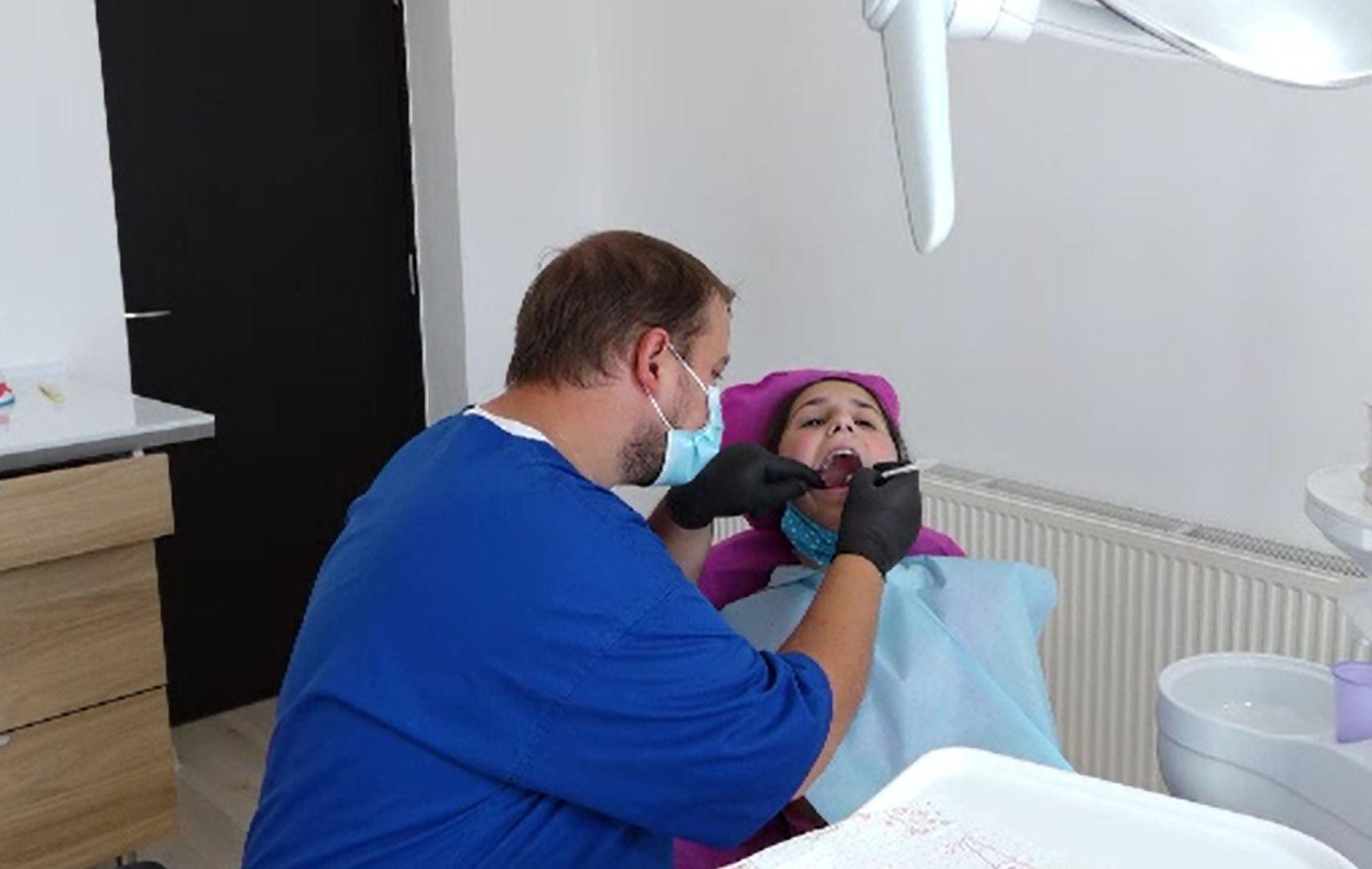 Cabinetul stomatologic unde toți copiii sunt tratați gratuit.