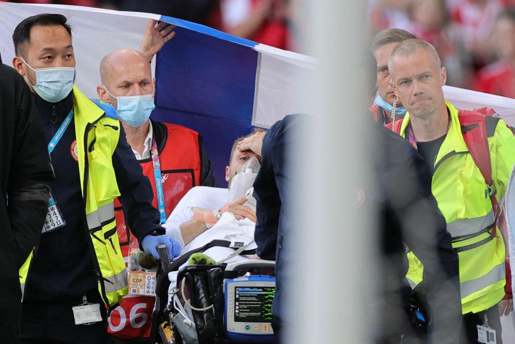 """Primele cuvinte spuse de Eriksen după ce a fost resuscitat. Medic UEFA: """"A fost un moment foarte emoţionant"""""""