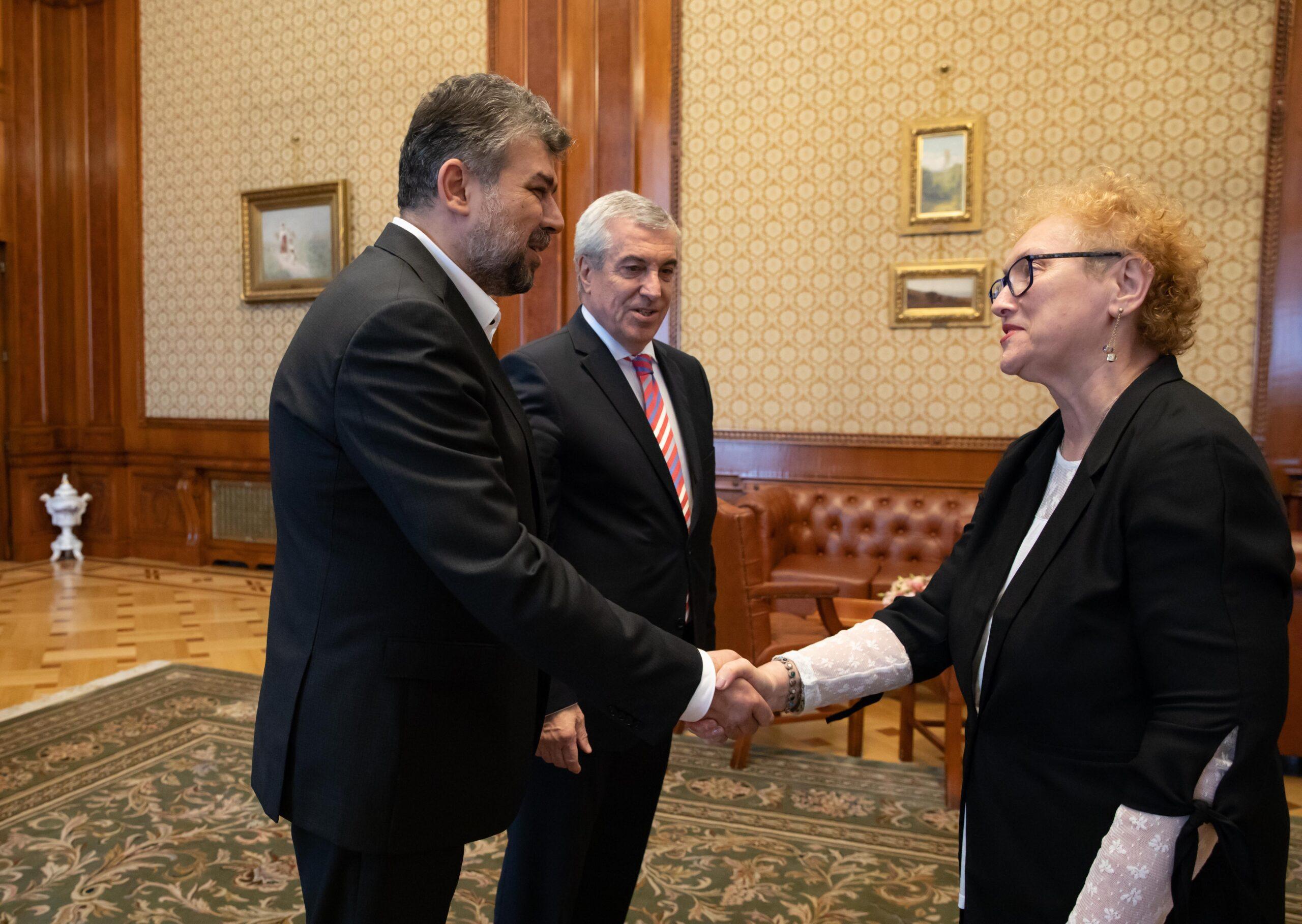 Ciolacu, după revocarea lui Renate Weber din funcția de Avocat al Poporului: Depunem sesizare la CCR
