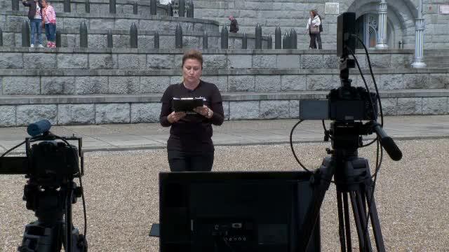 Oră de istorie inedită, cu ajutorul unei drone. Elevii au putut vedea live Mausoleul de la Mărășești