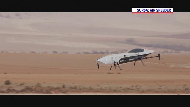 VIDEO. Cum arată prima mașină de curse zburătoare. Costă 1 milion de dolari