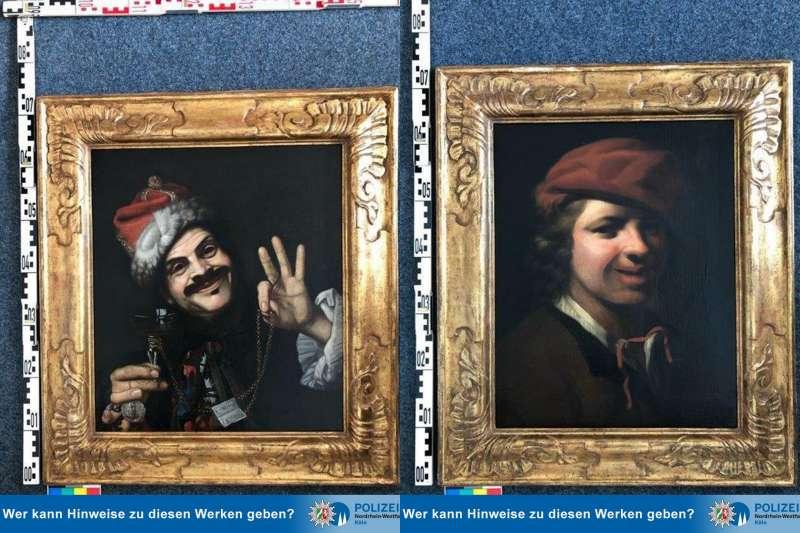 Două tablouri valoroase, găsite la gunoi pe o autostradă. Sunt pictate acum 350 de ani