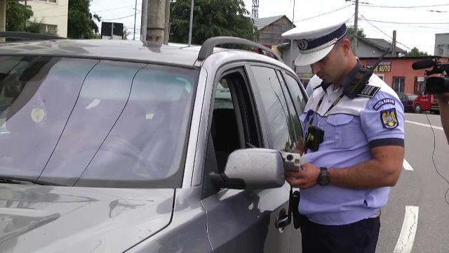 Controale de amploare pe drumurile din Dâmbovița. Patru șoferi s-au ales cu dosar penal din cauza alcoolemiei