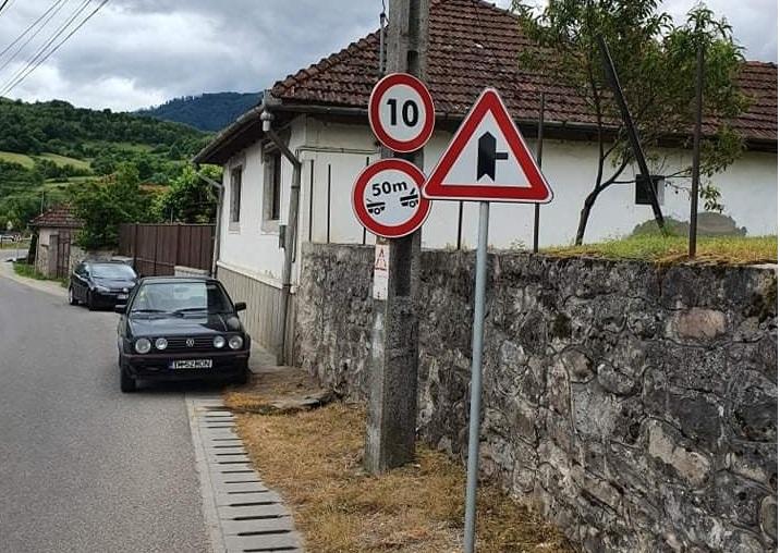 Șofer bihorean, amendat după ce a fost prins de radar 30 km/h în localitate. De ce a fost sancționat