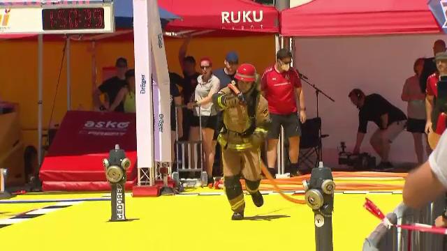 """Sute de pompieri au luptat pentru titlul de """"campion"""" în cadrul Campionatului European al Pompierilor din Germania"""