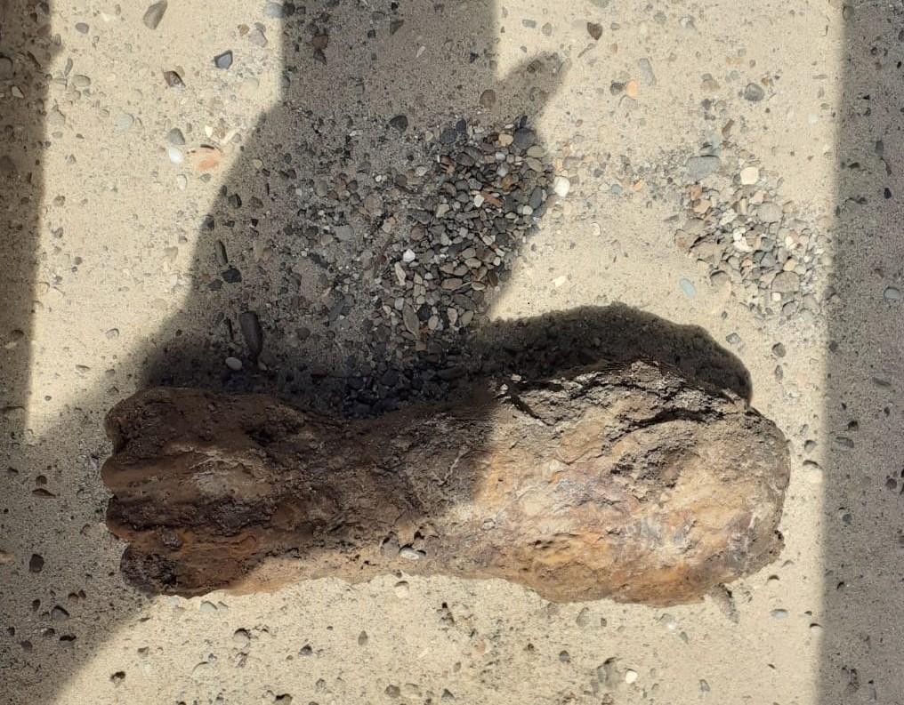 O bombă care putea exploda în orice moment a fost descoperită accidental, în Botoșani