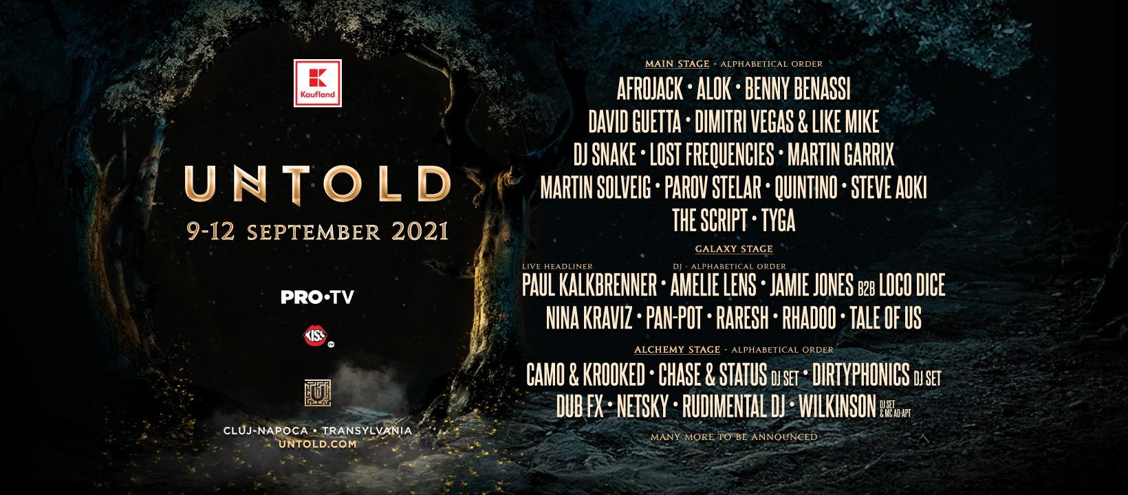 Untold 2021 lineup, top 3 cei mai buni DJ-i din lume: David Guetta, Martin Garrix, Dimitri Vegas & Like Mike