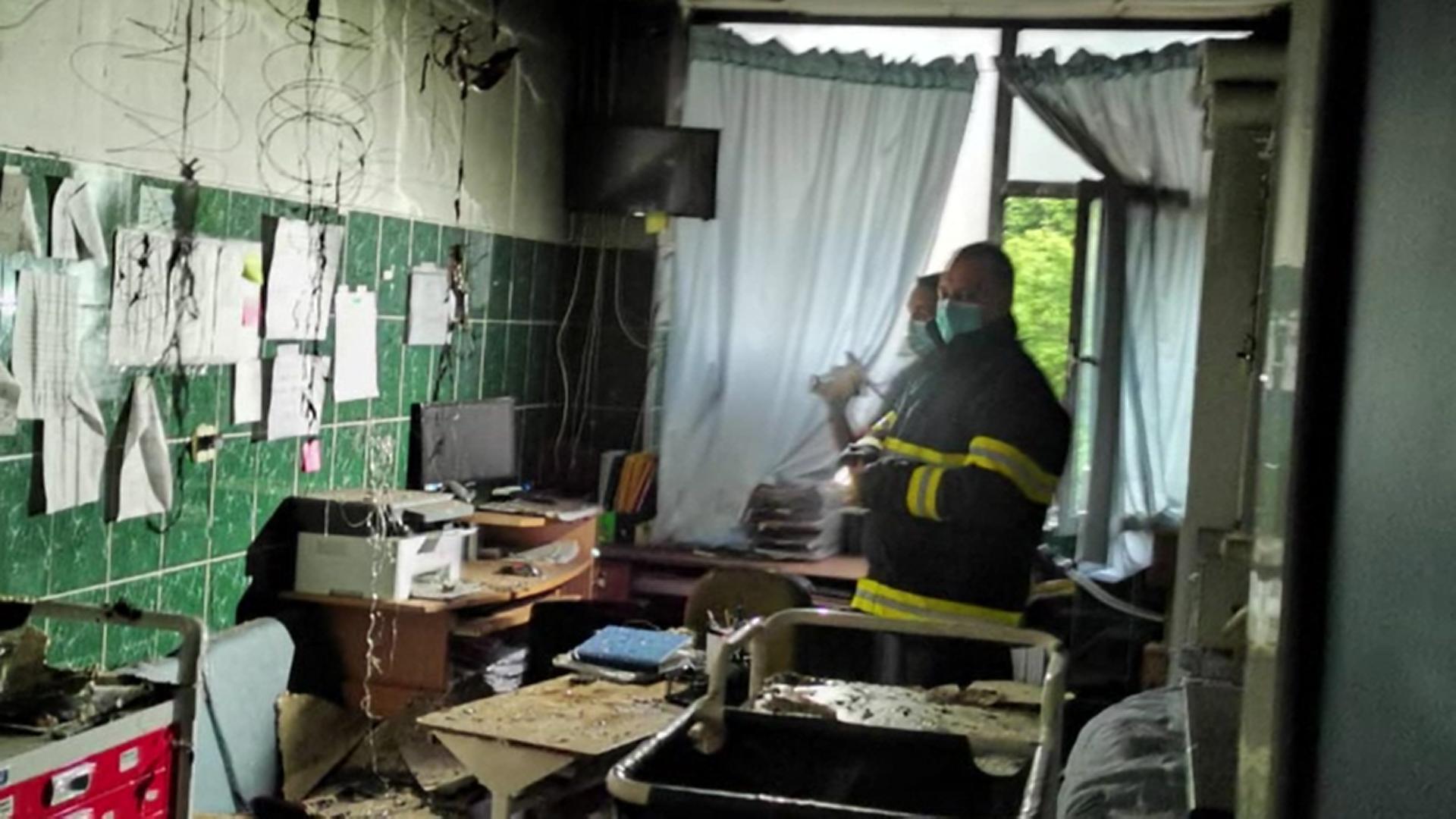 Incendiu violent la Spitalul de Copii din Iași. Instalația electrică, veche din 1970, nu a fost niciodată reabilitată