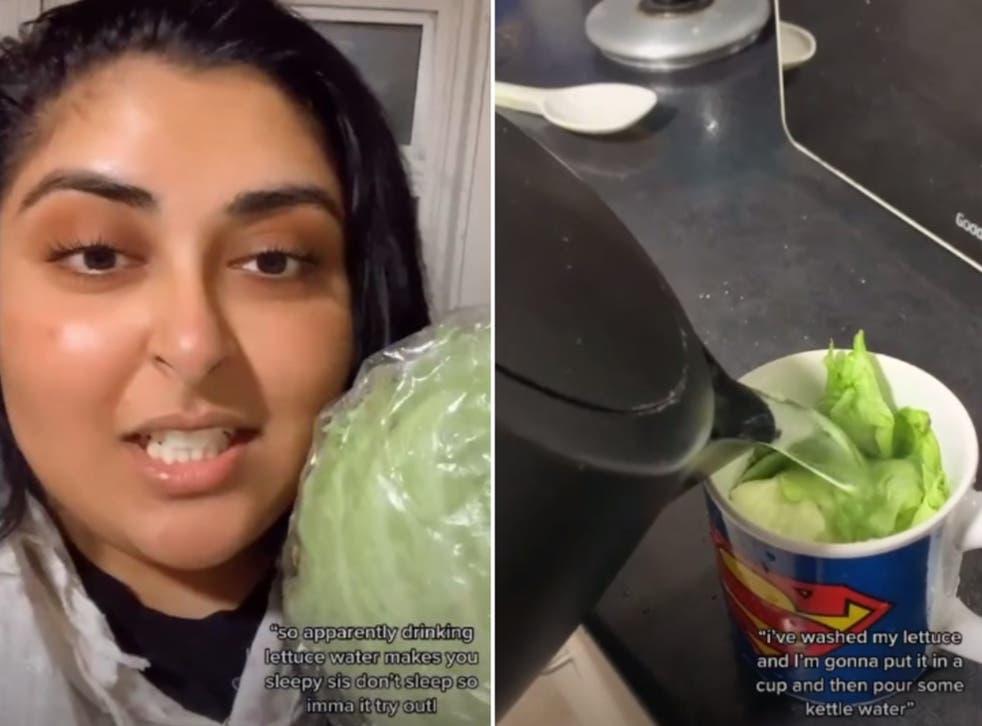 Video. Noul trend pe TikTok: Bei fiertură de salată ca să adormi mai ușor. Ce spun studiile