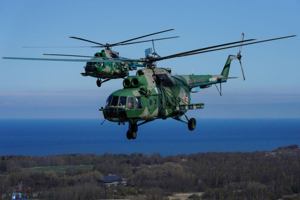 Trei oameni au murit, după ce un elicopter militar s-a prăbușit, în Rusia