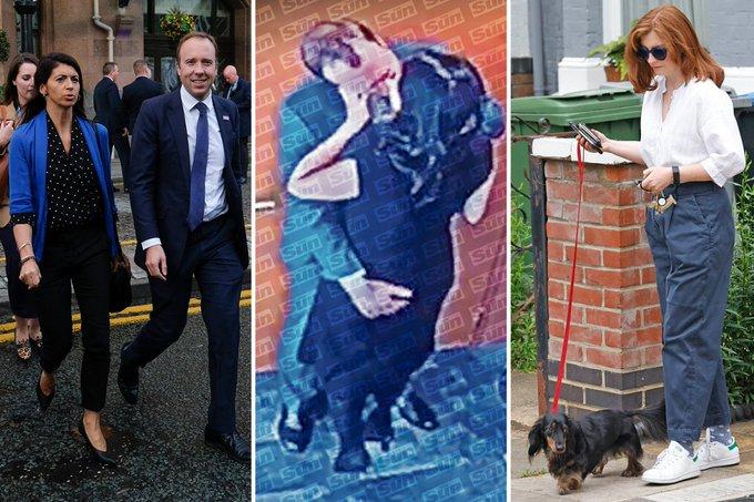 Ministrul Sănătății din Marea Britanie, criticat după ce a fost surprins sărutând o consilieră