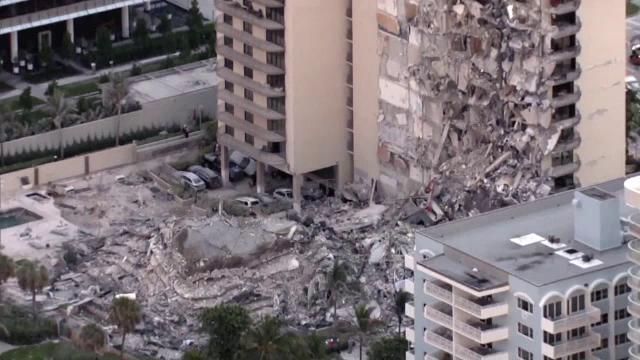 Cel puțin 4 morți și 160 de răniți după prăbușirea blocului din Miami. Zgomote încă se aud de sub betoane