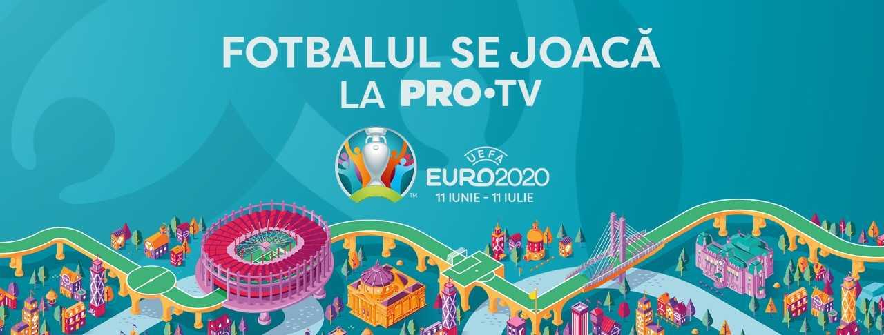 Optimile EURO 2020 sunt pe PRO TV și Voyo. Sâmbătă se joacă Ţara Galilor – Danemarca şi Italia – Austria