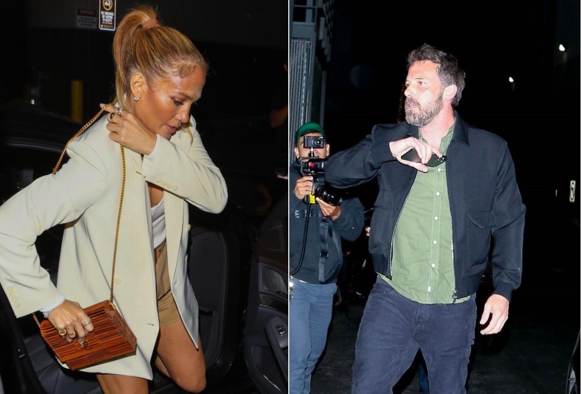 Jennifer Lopez şi Ben Affleck, surprinși din nou împreună, la o ieșire la în oraș. GALERIE FOTO