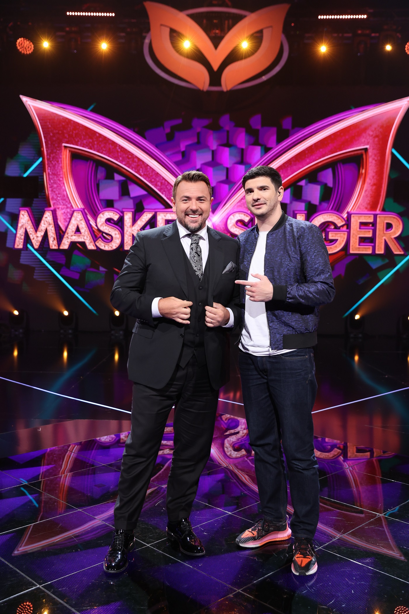 Horia Brenciu și Alex Bogdan, detectivi în sezonul 2 Masked Singer România!