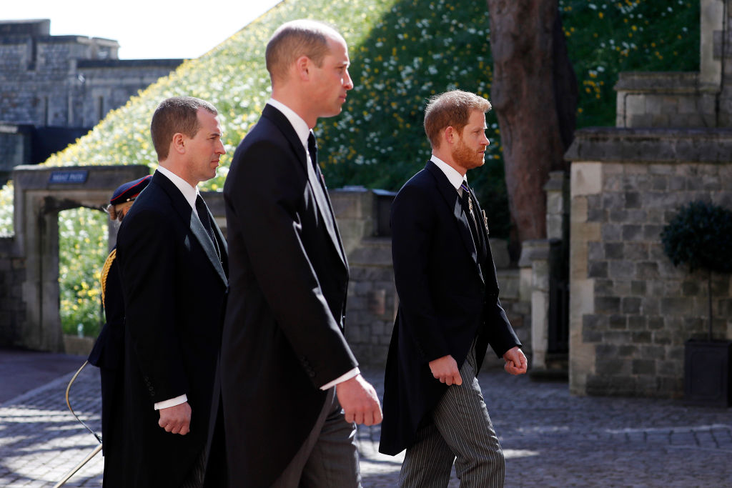 Apropiat al Casei Regale: Harry și William s-au certat la funeraliile prințului Philip