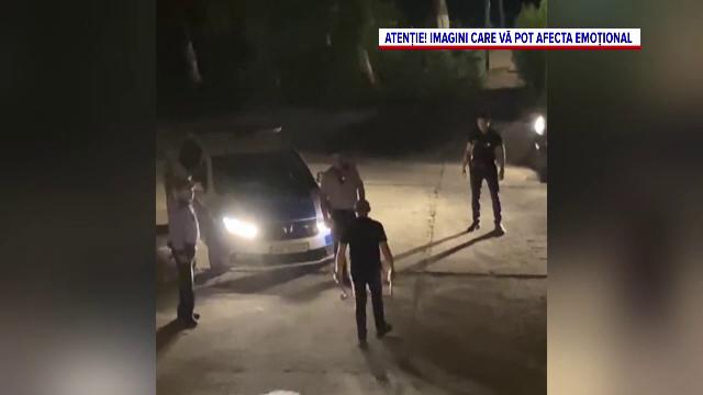 Tragedia din spatele unui scandal. Bărbatului din Bârlad care i-a amenințat pe polițiști cu 2 securi îi murise copilul