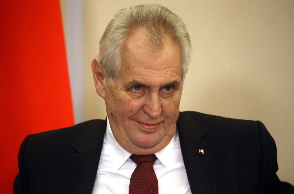 """Preşedintele ceh Milos Zeman: """"Persoanele transsexuale sunt dezgustătoare"""""""