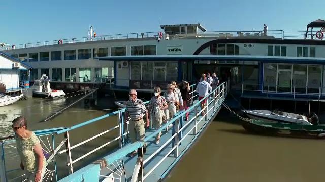 """Primele nave de croazieră cu străini au ajuns în Delta Dunării: """"Este foarte diferit față de ce avem la noi"""""""