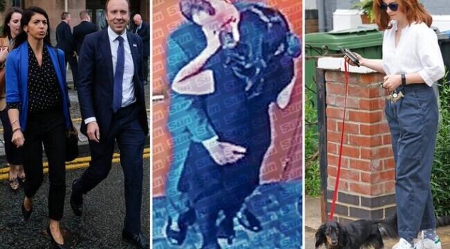 Camera care a surprins sărutul fostului ministru britanic al Sănătății a fost oprită