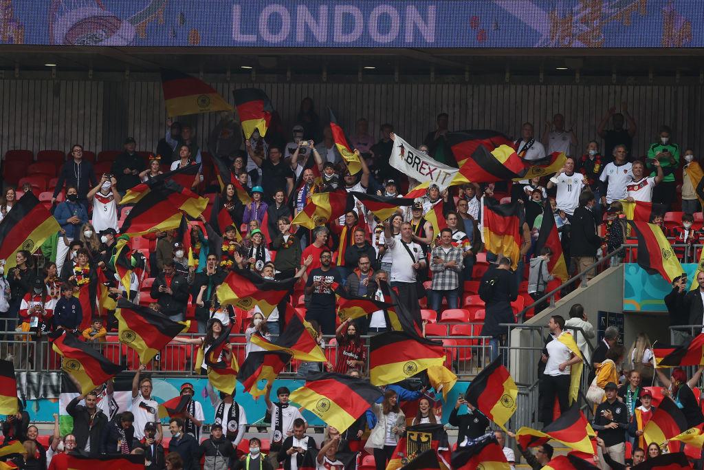 Anglia 2 - 0 Germania, la EURO 2020. Anglia a învins Germania cu 2-0 şi s-a calificat în sferturile de finală