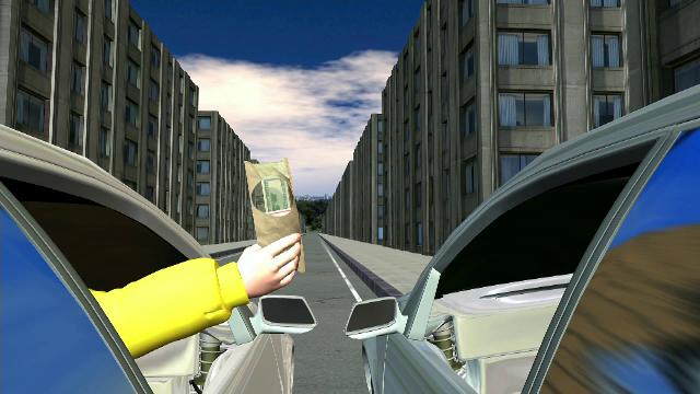 Misterul celor 45.000 de dolari aruncați de un șofer într-o mașină, după care a fugit. Ce au aflat polițiștii