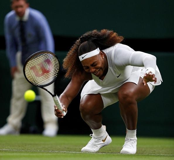 """Serena Williams a plecat de la Wimbledon în lacrimi: """"Am avut inima frântă"""""""
