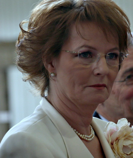 Principesa Margareta, in vizita la un centru de batrani.