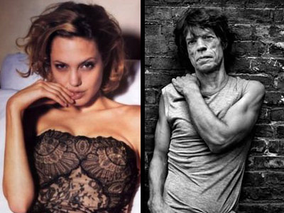 Angelina Jolie s-a iubit si cu Mick Jagger!