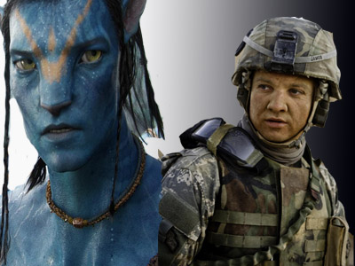 Batalia pentru OSCAR: extraterestrii Avatar vs. soldatii Hurt Locker