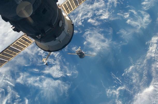 O capsula spatiala Soyuz a aterizat in Kazahstan