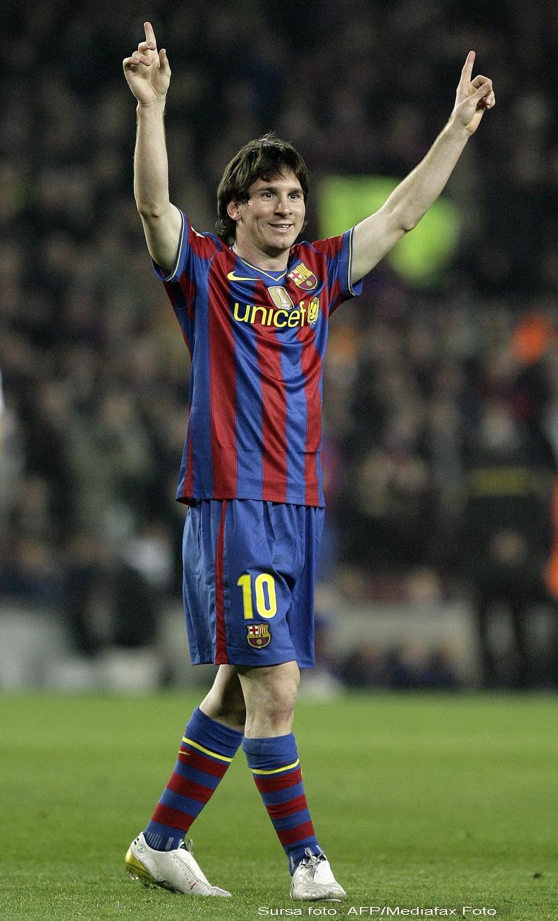 Messi: Daca nu castig eu Balonul, sper sa-l primeasca Xavi si Iniesta