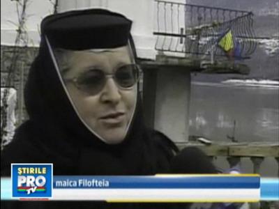 Nimeni nu o vrea pe Maica Filofteia: aude voci in Postul Pastelui!