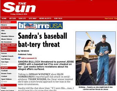 Sandra Bullock, inainte sa afle: