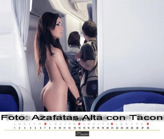 Poftiti la bordul NUDITATII! Noua stewardese sunt pregatite de turbulente