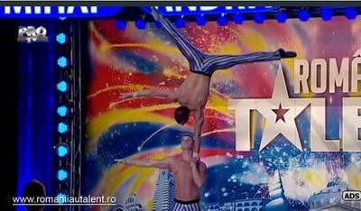Dan si Constantin, acrobatii