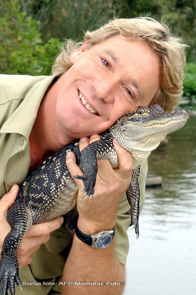 """Steve Irwin, """"vanatorul de crocodili"""", ar putea fi exhumat"""