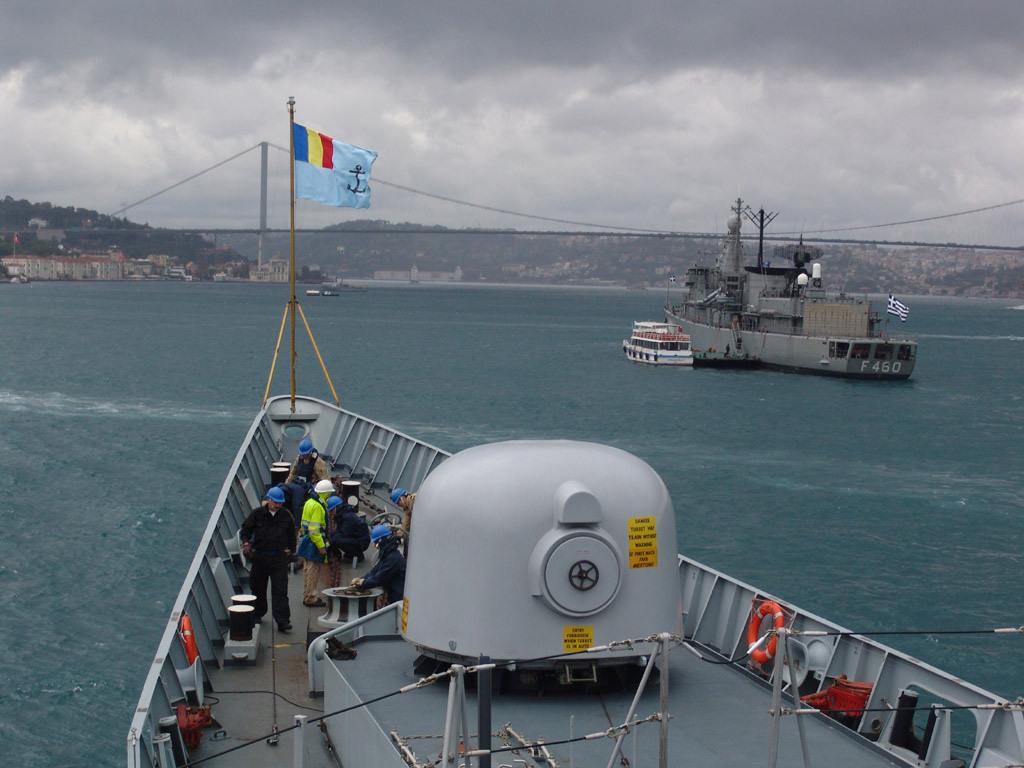 Fregata Ferdinand a plecat in misiune NATO