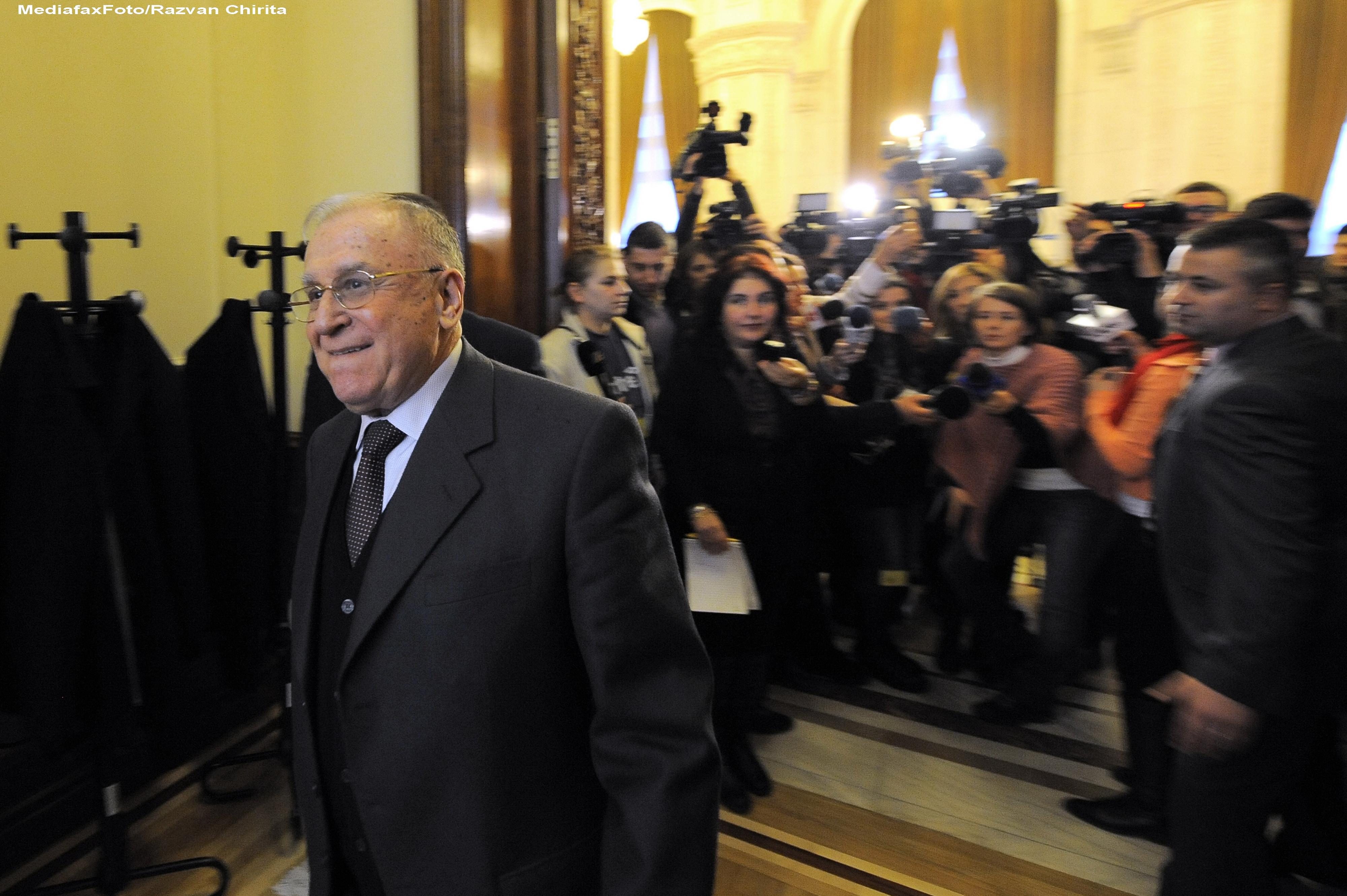 Ion Iliescu: Melescanu a fost cam oportunist, il cam atrag functiile, m-a cam dezamagit