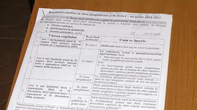 Inscrieri la clasa pregatitoare. Scolile din Cluj afiseaza astazi numarul claselor de anul acesta