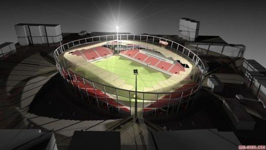 Emirates de Arad. UTA isi face stadion de 12.500 de locuri