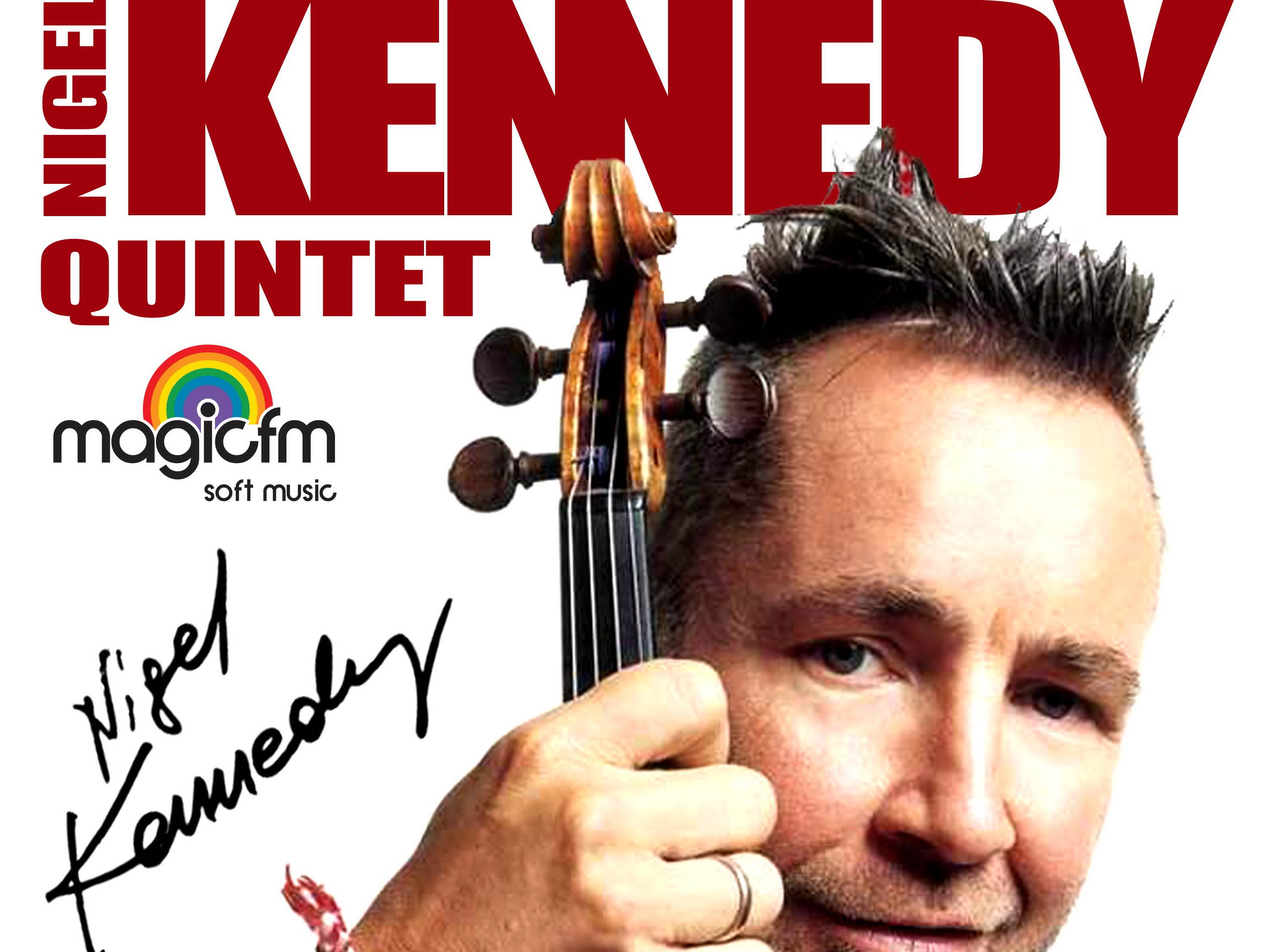 "Nigel Kennedy va canta la Bucuresti pe vioara Laufont Guarneri ""del Gesu"""
