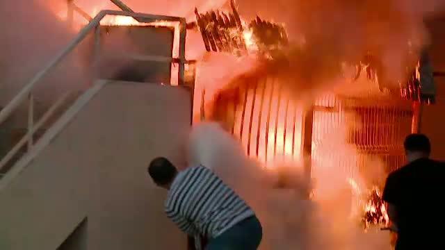 Incendiu la o scoala pentru copii cu dizabilitati din Hunedoara!
