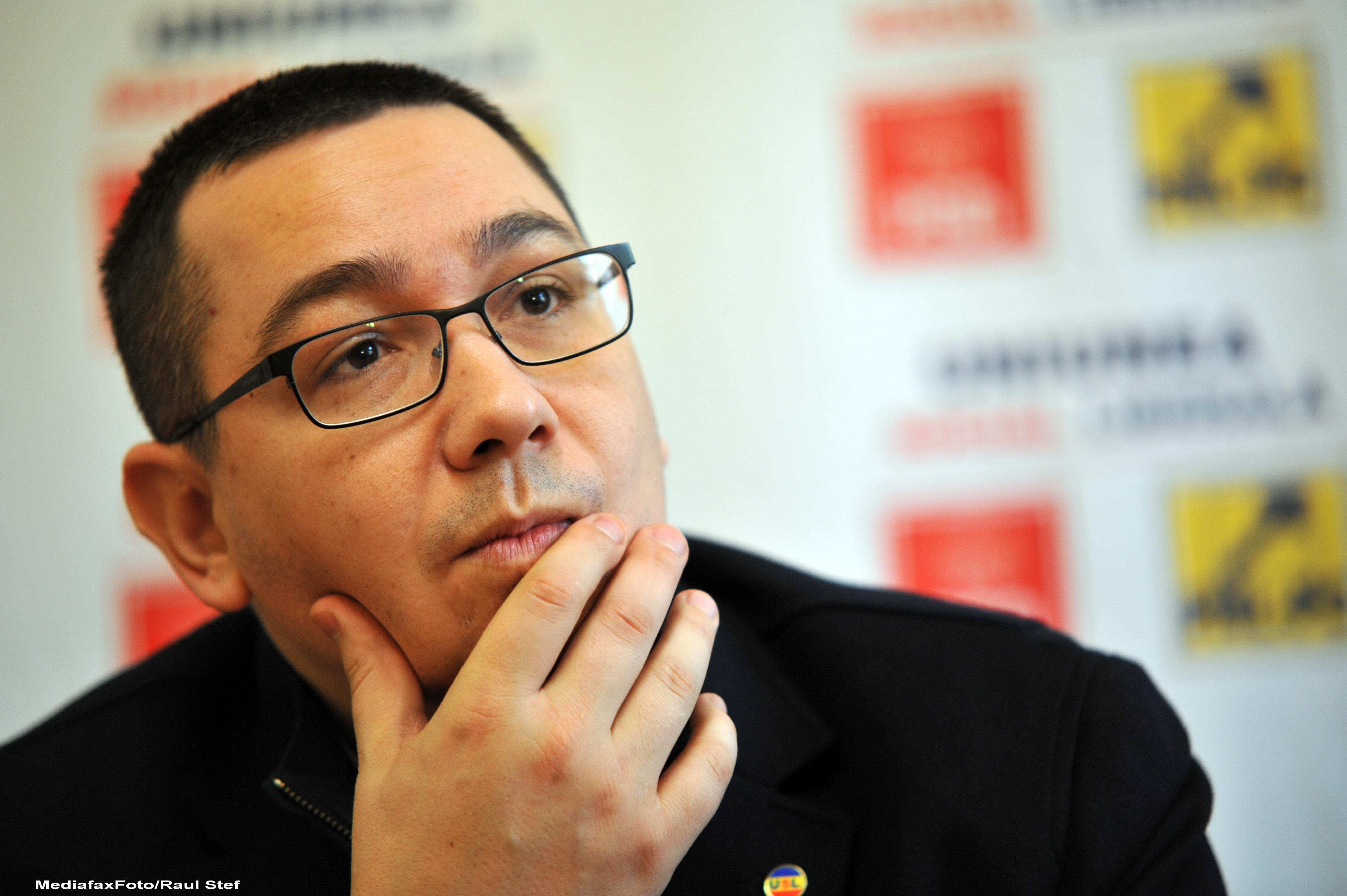 Ponta spune ca nu va accepta proiectul PDL de reorganizare teritoriala,ci va aplica propriul proiect