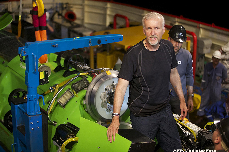 Regizorul AVATAR, James Cameron, se va scufunda in cel mai adanc loc de pe Pamant: Groapa Marianelor