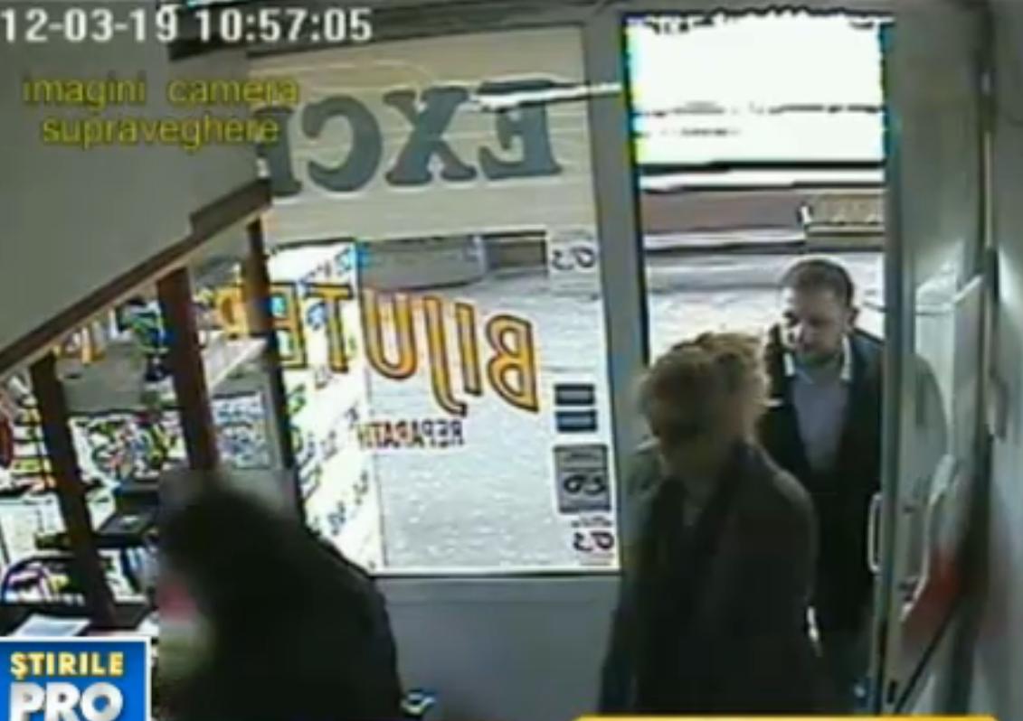 CAMERA DE SUPRAVEGHERE: filmul furtului de 100.000 de euro de la casa de schimb valutar din Capitala