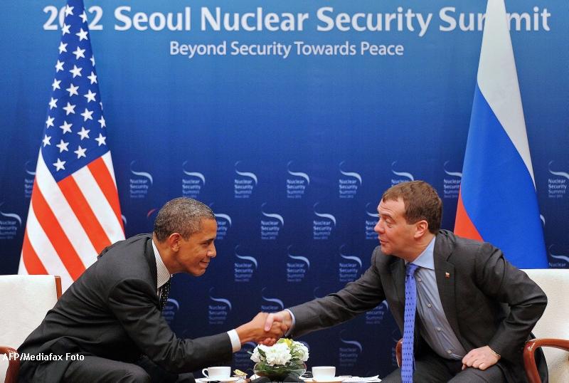 Gafa incredibila a lui Obama. Dialogul privat cu Dmitri Medvedev despre scutul antiracheta