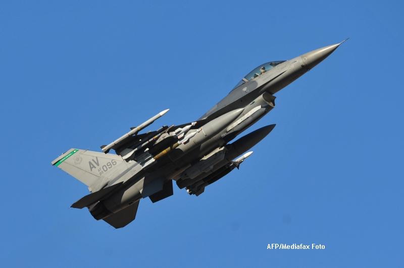 Cele 12 avioane de lupta F16 vor costa Romania 600 de milioane de dolari. MIG-urile vor fi casate