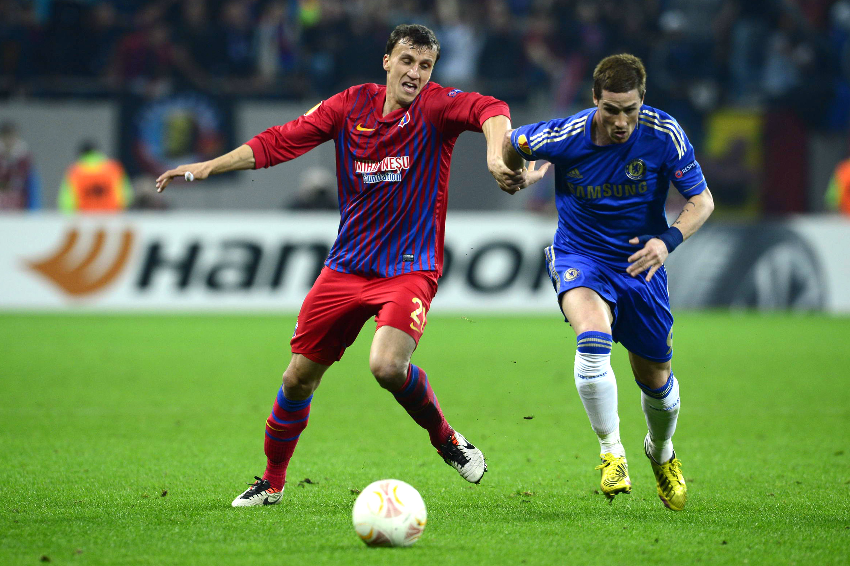 Steaua - Chelsea. Chiriches:
