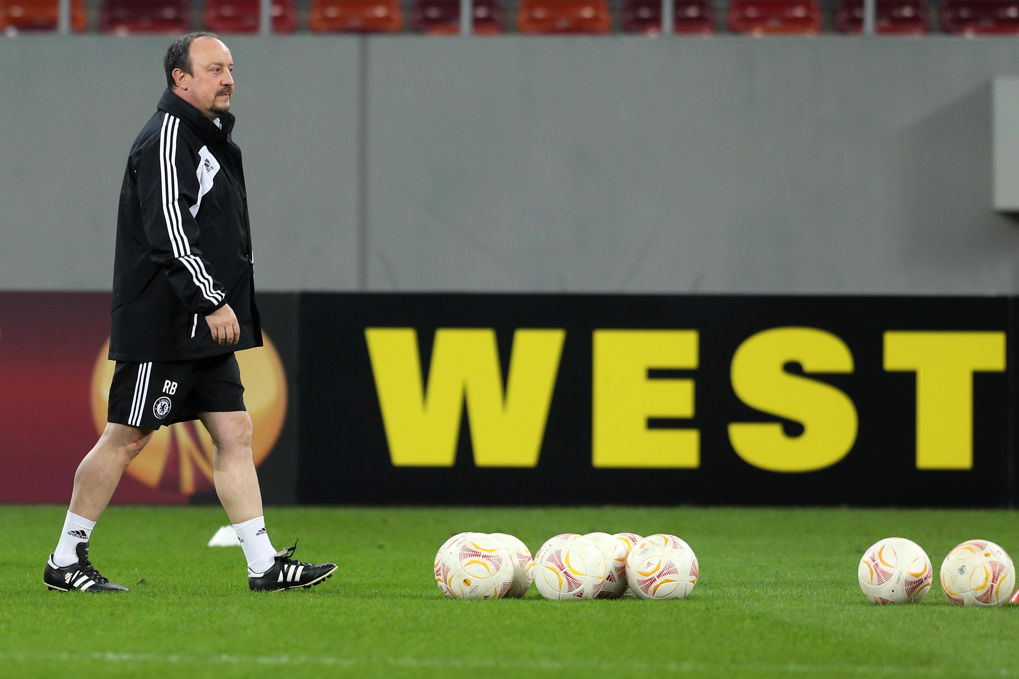 Steaua - Chelsea. Benitez: